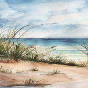 Olieverfschilderij Schilderij Strand Handgeschilderd 150x60 Woonkamer Slaapkamer Trendybywave Nl