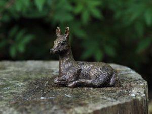Beeld - Tuinbeeld - Brons - Veulen - 6 cm hoog