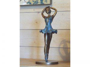 Tuinbeeld - bronzen beeld - Danseres - Ballerina - Bronzartes - 39 cm hoog
