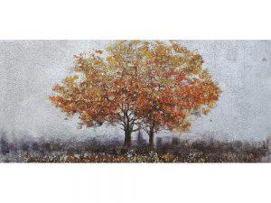 Olie op canvas - Boom - 60 cm hoog