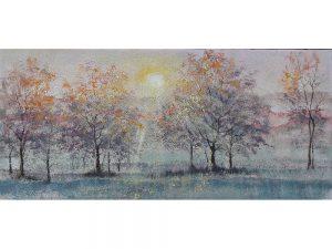 Olie op canvas - Bomen - 60 cm hoog