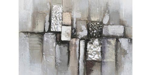 Olie op canvas - Abstract - 80 cm hoog