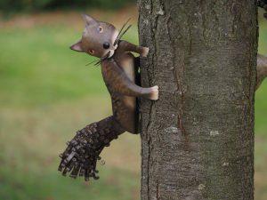 Tuinbeeld - Eekhoorn - 25 cm hoog