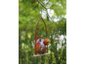 Tuinbeeld - Gekke vogel - 19 cm hoog