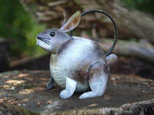 Tuinbeeld - Gieter konijn - 23 cm hoog