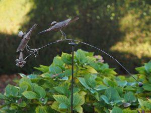 Tuinsteker - Balans Kraaien - 130 cm hoog