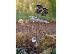 Tuinsteker - Balans kikkers - 150 cm hoog