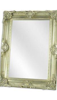 Zilveren spiegel - Spiegel - Klassiek - 117 cm hoog